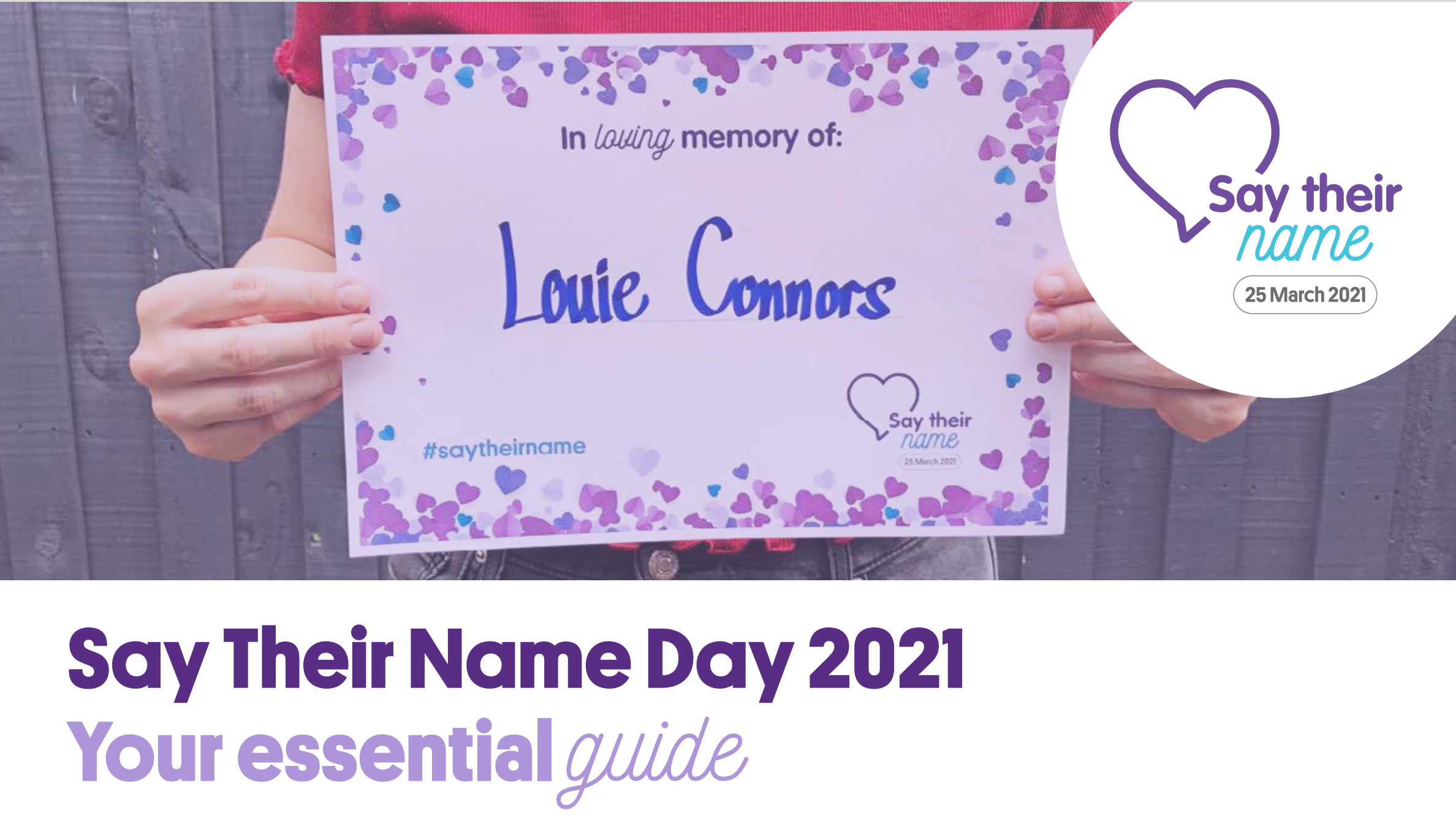 Say Their Name Day Essential Guide